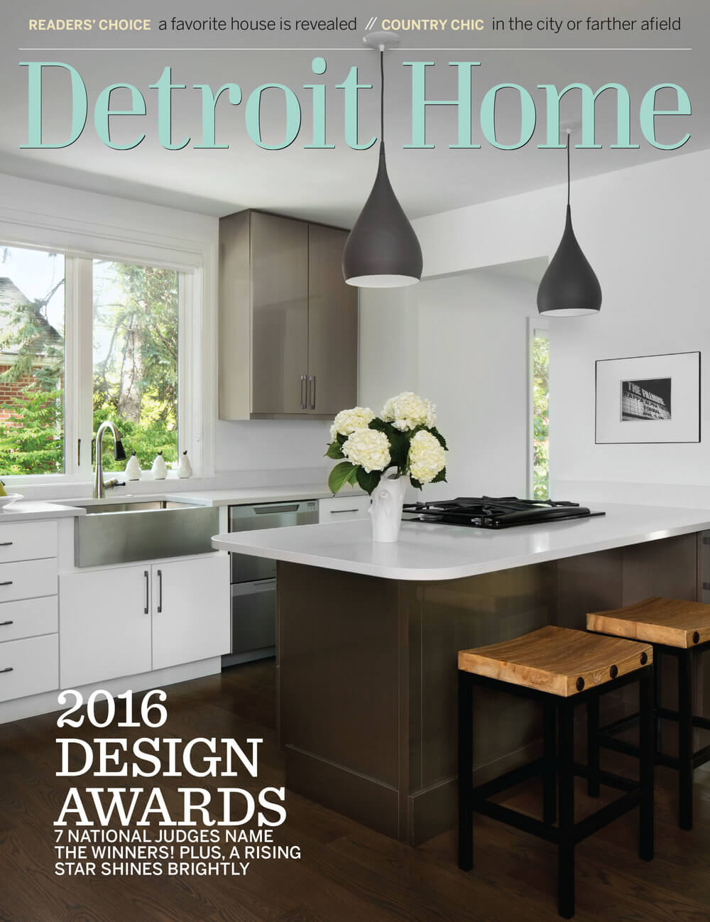 Detroit Home Magazine,  April- May 2016