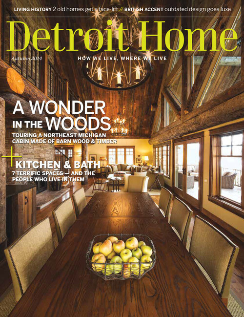 Detroit Home Magazine, Fall 2014